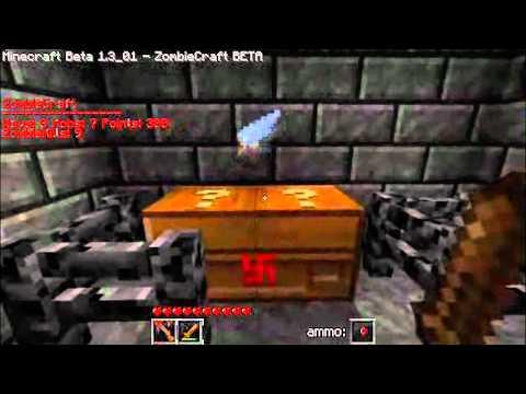 Zombiecraft (Minecraft Nazi Zombies) 1