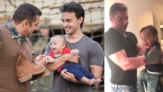 Salman Khan's Family Playing With Sister Arpita's CUTE Son Ahil Will Melt Your Heart