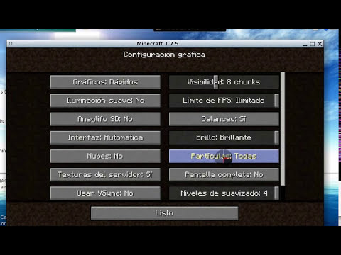 tutorial de como descargar minecraft ultima version 1.7.5 para canaima 3.1 o 3.0