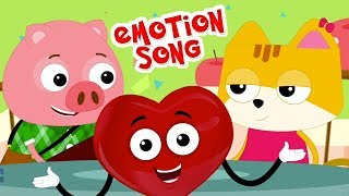 อารมณ์เพลง | สัมผัสเรือนเพาะชำ | บทกวีของเด็ก | Emotion Song | Preschool Thailand | เพลง เด็ก อนุบาล