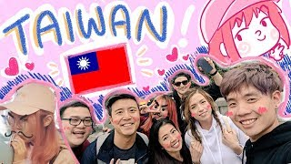 【vlog】TAIWAN! ~ ft. offlinetv & friends!