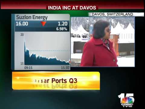 W.E.F - Davos - Closing Bell - Arundhati Bhattacharya, SBI - Jan 22