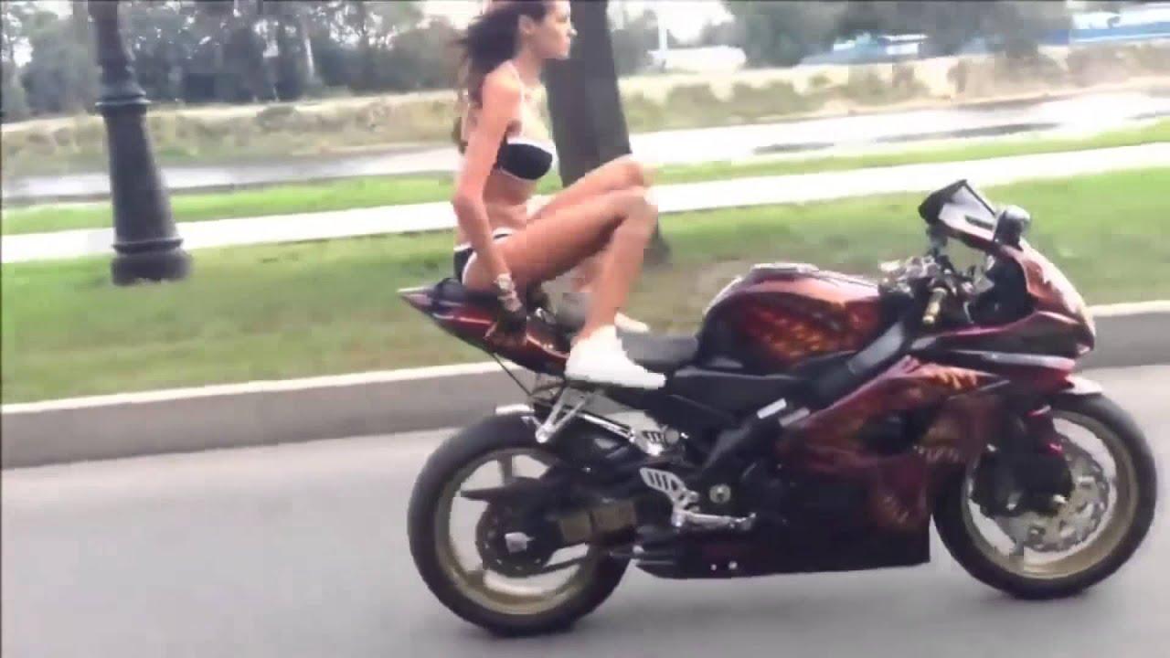 Фото мотоциклистов и их девушек