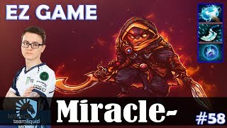 Miracle - Ember Spirit MID | EZ GAME | Dota 2 Pro MMR Gameplay #58