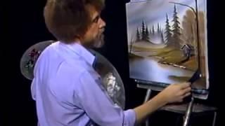 Bob Ross - Gemälde Jäger haven - Malerei Video