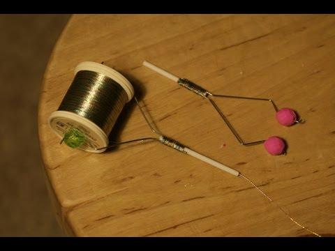 Making bobbin holders for fly tying thread youtube for Diy fly fishing