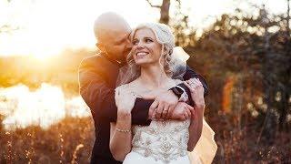 A Tearful Walk Down the Aisle   Outdoor Texas Wedding