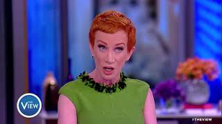 Kathy Griffin Says She is Taking Back Her Apology for Trump Photoshoot | The View