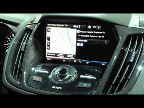 UWHS - CES 2012 - My Ford Touch 2012 Improvements Demo