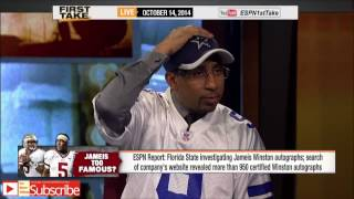 First Take - Jameis Winston Investigated for Possible Violations