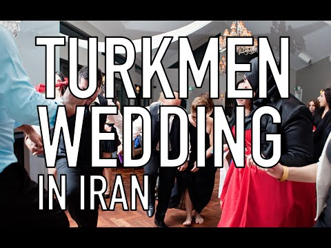 Turkmen Wedding In Iran video