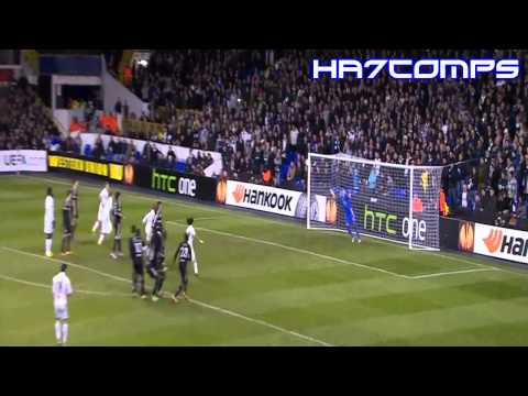 Gareth Bale  Goals, Skills  and  Passes   2012 13  HD