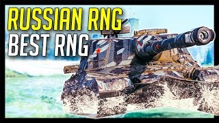 ► Russian RNG Best RNG! - World of Tanks Object 268 Gameplay