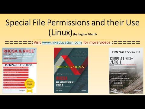 Special Linux File Permissions And Their Use (setuid, Setgid, Sticky Bit)