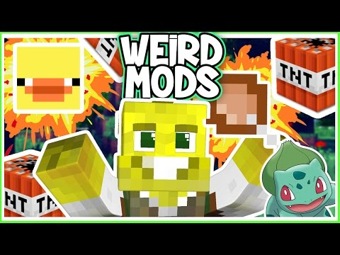 EXPLODING CHICKEN WINGS!   Minecraft Mod Reviews!