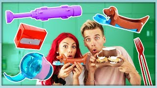 TESTING CRAZY FOOD GADGETS!
