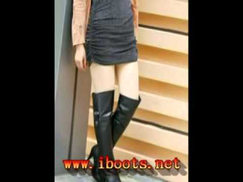[Yifu Slutwear]cute asian girls with black leather boots pictures collection