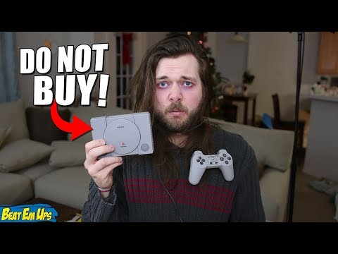 DO NOT BUY THE PLAYSTATION CLASSIC