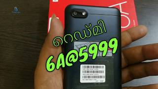 REDMI 6A|UNBOXING|REVIEW| മലയാളം|BEST 4G PHONE UNDER 6000