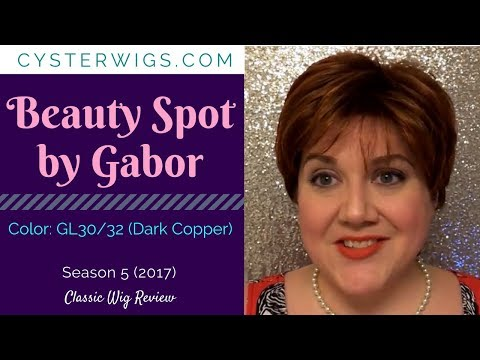 CysterWigs Wig Review: Beauty Spot by Gabor. Color: GL30/32 (Dark Copper)