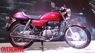 Hero Splendor Pro Classic Cafe Racer Concept unveiled at 2014 Auto Expo
