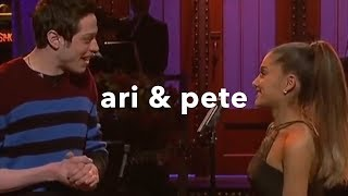 ariana grande & pete davidson | ♡cutest moments♡ PART 1