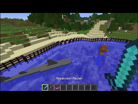 PaleoCraft MEGALODON Shark Spotlight Minecraft 1.6.2