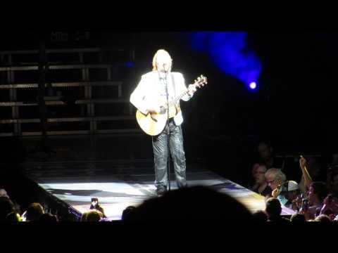 Joe Elliott of Def Leppard - Two Steps Behind Acoustic Solo Tampa, FL 06 23 2015