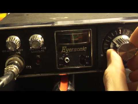 Eversonic CB Radio (Late 1970's)