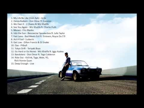 download lagu Fast And Furious 1-8 Best Songs Soundtracks Top 15 gratis