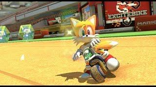 Sonic Tails in Mario Kart 8 Deluxe