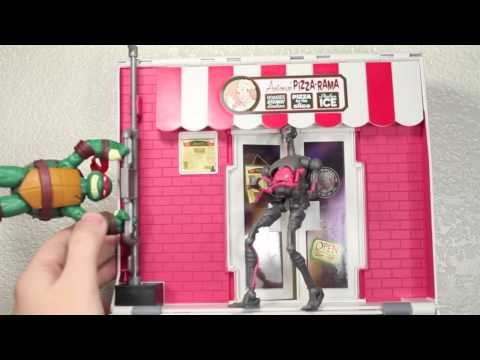 Nickelodeon's Teenage Mutant Ninja Turtles Anchovy Alley Pop-Up Pizza Playset Review