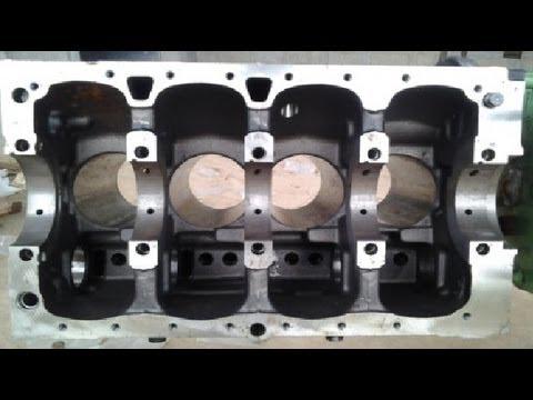 How    engine    cylinder    block    works  YouTube