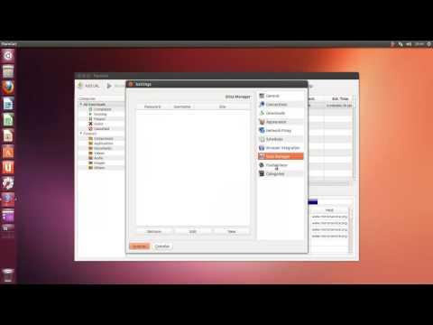 flareGet y UGET Gestores de descargas para Ubuntu / Linux Mint / Otros Derivados de Ubuntu