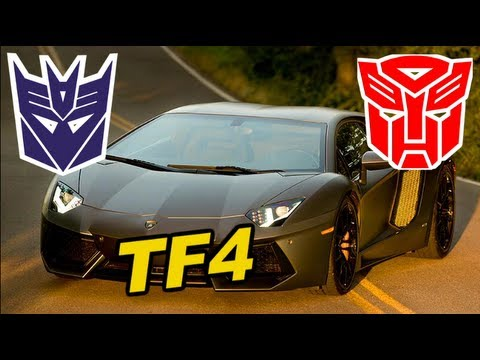 Lamborghini Decepticon added to Transformers 4. is it Breakdown?? - [TF4 Update #22]