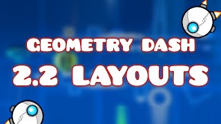 TOP 10 (BEST) Geometry Dash 2.2 Layouts 2020 | #3