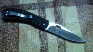 Timberline Chui Caping knife, D2, тест РК на канате