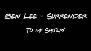 Watch Ben Lee Surrender video