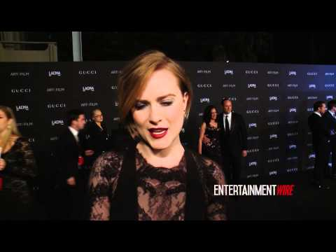 Dakota Johnson, Evan Rachel Wood, Cindy Crawford, Camilla Belle 2014 LACMA Art + Film Gala Interview