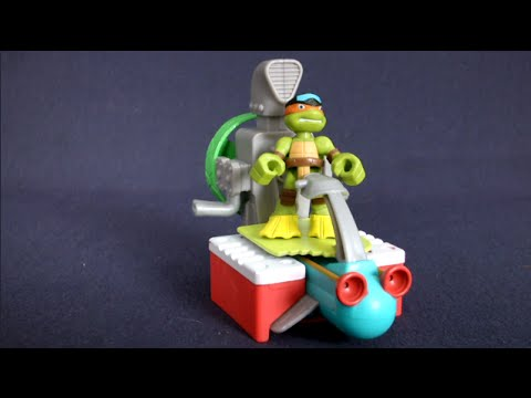 Teenage Mutant Ninja Turtles Half-Shell Heroes Sewer Cruiser with Diver Mikey from Playmates Toys