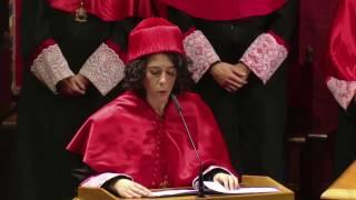 Video de investidura de nuevos graduados en Derecho