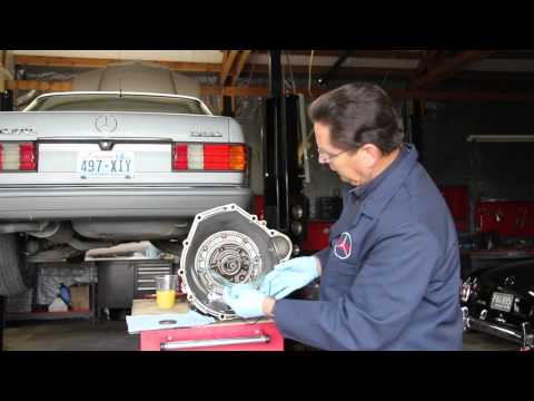 Mercedes Automatic Transmission Seal Leak Diagnosis Part 1: What to Look For