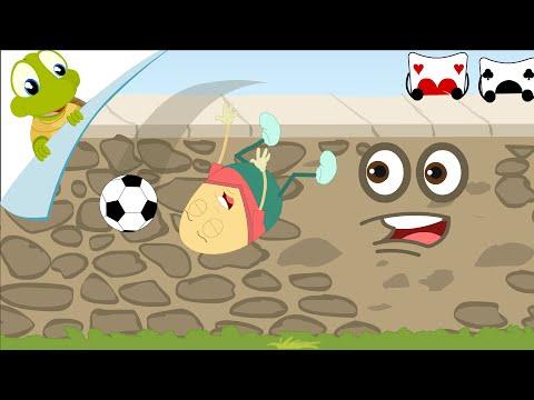 Humpty Dumpty Sat On A Wall Nursery Rhyme video