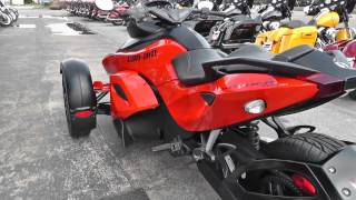 000139 - 2012 Can Am Spyder RSS - SE5 - Used Motorcycle For Sale
