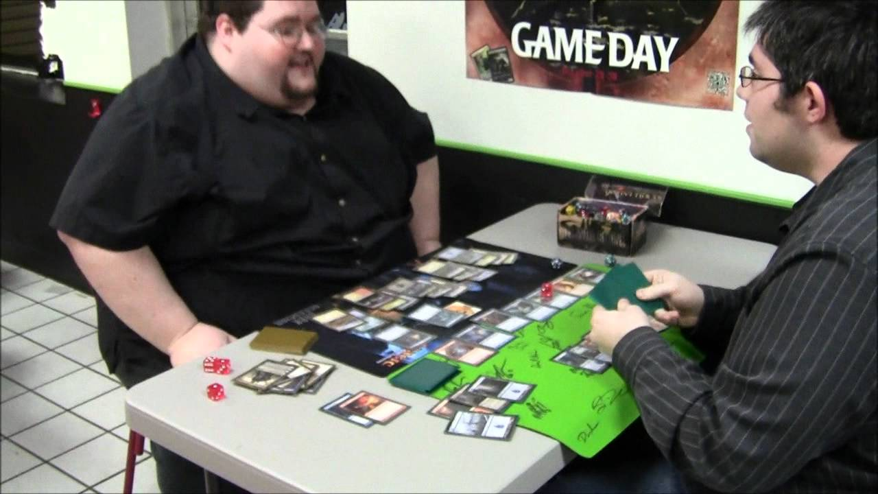 Francis plays magic the gathering youtube - Magic the gathering game table ...