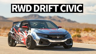 900hp RWD Honda Civic... Drift Car!? SEMA 2019 Madness Begins