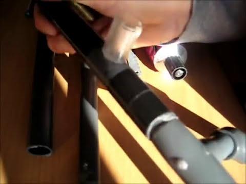 como hacer un rifle de aire comprimido casero  muy potente