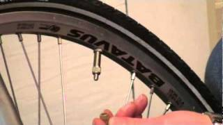 Dutch Bikes How to Pump The Tyres With Woods valves