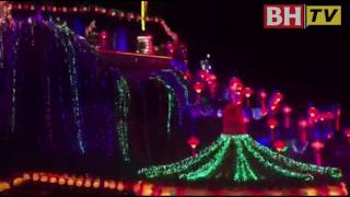 Lebih 10,000 tanglung dan lampu menghiasi Tokong Kek Lok Si