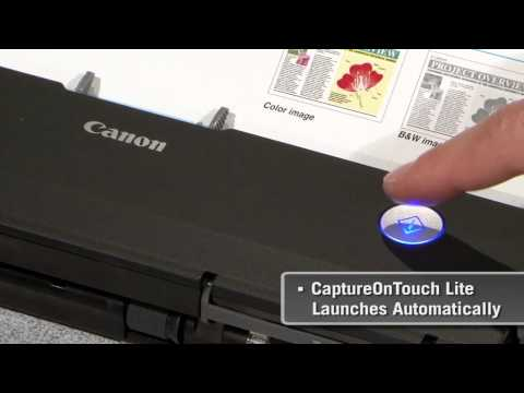 P-215 Scan-tini Mobile Document Scanner Promotional Video